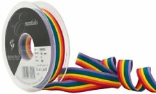 Berisfords 15 Mm Rainbow Stripe Ribbon Multi-color