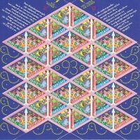 Niederlande Mi Nr. 1496 - 1497 ** Kleinbogen, Weihnachten 1993, postfrisch, MNH