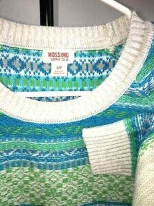 Spring Light S/P Sweater Multi Color Green Blue White Women's Lightweight