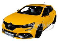 2017 RENAULT MEGANE R.S. SIRIUS YELLOW 1/18 DIECAST MODEL CAR BY NOREV 185226