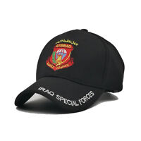 IRAQ Special Forces Hat Baseball Eagle Army Cap Hombre Homme Casquette Tactical