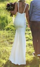 Custom Made Wedding Dress - Size 6 - Ivory White