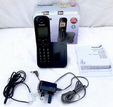 Panasonic KX-TGC210EB Cordless Digital Telephone With Call Blocker New Unused