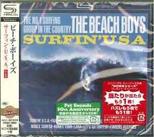 BEACH BOYS-SURIN' U.S.A.-JAPAN SHM-CD BONUS TRACK D50
