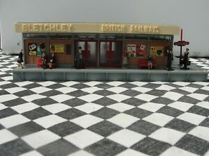 1960'S/70'S  GERMAN MADE HO TRAIN STATION - BLETCHLEY   USED UNBOXED