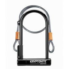 KRYPTONITE Keeper 12 Standard including a 4ft Flex Cable Sold Secure Silver