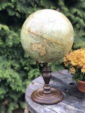 Antiker*Alter*Erdglobus*Globus*Ludwig Lulius Heymann*Um 1900