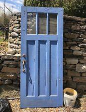 Craftsman Door, Original Hardware, Antique