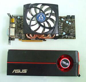 Asus ATI Radeon HD 5870 1GB Grafikkarte + Arctic Accelero Mono Plus