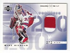 MIke Richter Jersey New York Rangers 2000-01 Upper Deck Challenge For The Cup