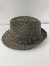 Fedora Hat Houndstooth Plaid Harvard Large