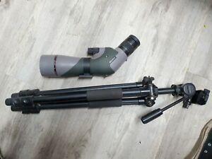 vortex razor hd spotting scope 16-48 with tripod