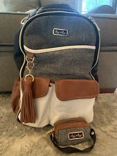 New ListingItzy Ritzy Boss Diaper Bag Backpack (Coffee And Cream) Plus New Pacifier Holder!