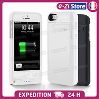 COQUE CHARGEUR BATTERIE EXTERNE HOUSSE SUPPORT IPHONE 6/6s/7/8/X/Xs 5000/3200mAh
