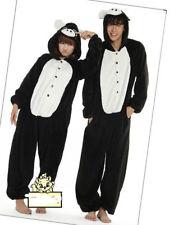 Hot 2018 Unisex Adult Pajamas Kigurumi Cosplay Costume Animal Halloween bodysuit