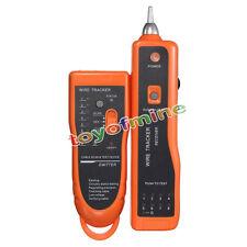 Teléfono RJ45 RJ11 perseguidor del alambre trazador Ethernet Red de Cable Tester