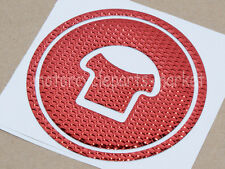 Red Motorcycle Fuel Gas Cap cover pad sticker Decal For Honda CBR250R 2010-2013