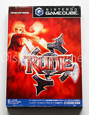 RUNE - GAMECUBE GC GAME CUBE - NTSC JAPAN - LOST KINGDOMS