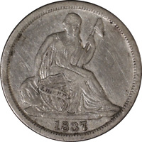 1837 Half Dime - No Stars Great Deals From The Executive Coin Company