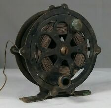Early Fly Fishing Reel Shakespeare Kazoo Model Antique Tackle Box Lure Fish Old