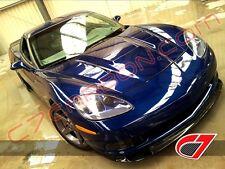 2005-2013 Chevrolet Corvette ZR1 Style Carbon Fiber Front Splitter For Base C6