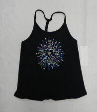 Roxy Kids Sz 5 Shirts Tank Tops Diamond Skies black
