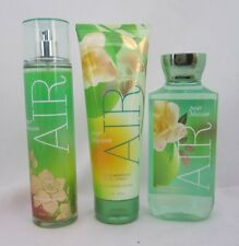 Bath & Body Works Pear Blossom Air Shower Gel Body Cream Splash Lot Set of 3
