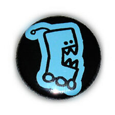 Badge ROBOT CARNIVORE Kawaii FreaK NeRd ALien GeeK vintage pop pins button Ø25mm
