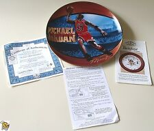 1998 His Airness Michael Jordan 2nd issue 6 Time Nba Champion Plate 2 of 2