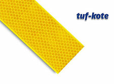 High Intensity Reflective Conspicuity Tape, Yellow, 2 inches x 5 meter Length