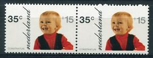 Nederland PLAATFOUT 1022 PM , horizontaal paartje, postfris ;