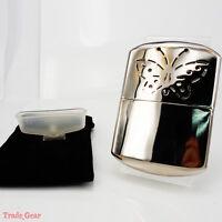 Hand Warmer Portable Handwarmer Platinum Pocket Handy w/Oil Cup and Bag NEW
