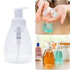 New Empty Plastic Foaming Hand Soap Dispenser Foam Pump Bottle 250ml 1PC