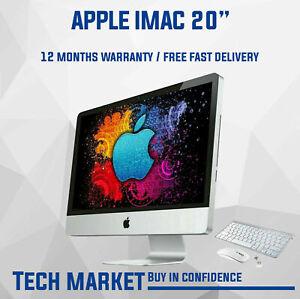 "Refurbished Apple iMac 20"" A1224 - Core2Duo 2.4GHZ - El Capitan - AllInOne"
