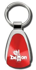 Dodge Dart Demon Red Teardrop Keychain Key Chain Fob Ring