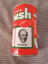 ORANGE CRUSH CAN Denver Broncos NFL FOOTBALL TEAM ~ JOE COLLIER / DEFENSE