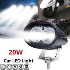 Cree 20W LED Spot Work Light Car SUV Off Road Pickup DRL Driving Fog Light Lamps