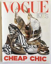 VOGUE magazine supplement 2005 Cheap Chic Fashion Resource Anya Hindmarsh Gucci