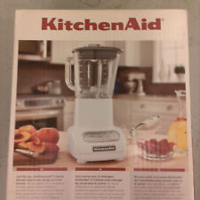 Kitchen Aid - 5-Speed  Blender with  Glass Pitcher-Colours- Silver,Black,White