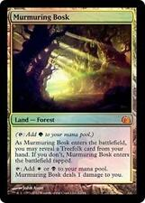 Foil MURMURING BOSK From the Vault: Realms MTG Land Rare