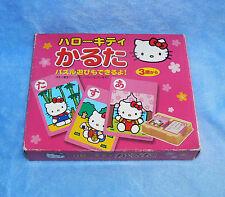HELLO KITTY 1976 2000 SANRIO CARD PUZZLE JAPANESE