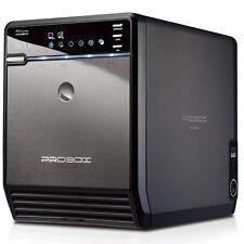 "Mediasonic ProBox HF2-SU3S2 4 Bay 3.5"" SATA HDD Enclosure - USB 3.0 & eSATA SATA"