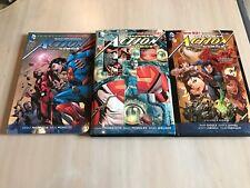 Superman Action Comics New 52 lot hardback