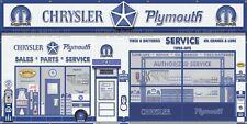 Chrysler Plymouth Mopar Sales Dealer Garage Wall Mural Sign Banner Art 5' X 10'