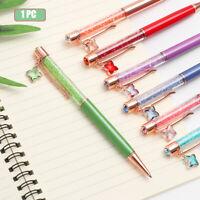 School Supplies Stationery Writing Tool Crystal Pendantall Pen Metal Ballpoint