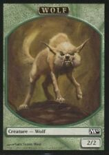 4X 2/2 Green Wolf TOKEN (7/8) NM Magic 2010 Core Set M10 MTG