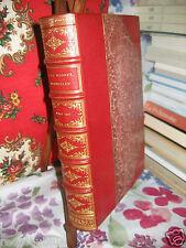 """""""Nouvelles"""" MUSSET Relié Maroquin 1/150 ill Flameng en 3 états ex-libris BERALDI"""