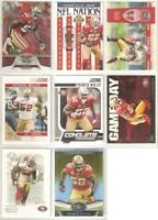 Patrick Willis 49ers 8 card 2011 insert lot-all different