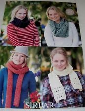 3ada1266ad9870 Women s Snoods   Scarves ~ Super Chunky Knitting Pattern ~ Easy Knit
