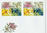 switzerland and singapore joint issue used stamps sheet cover ref r11478